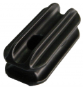 Fence Insulator - bull nose black